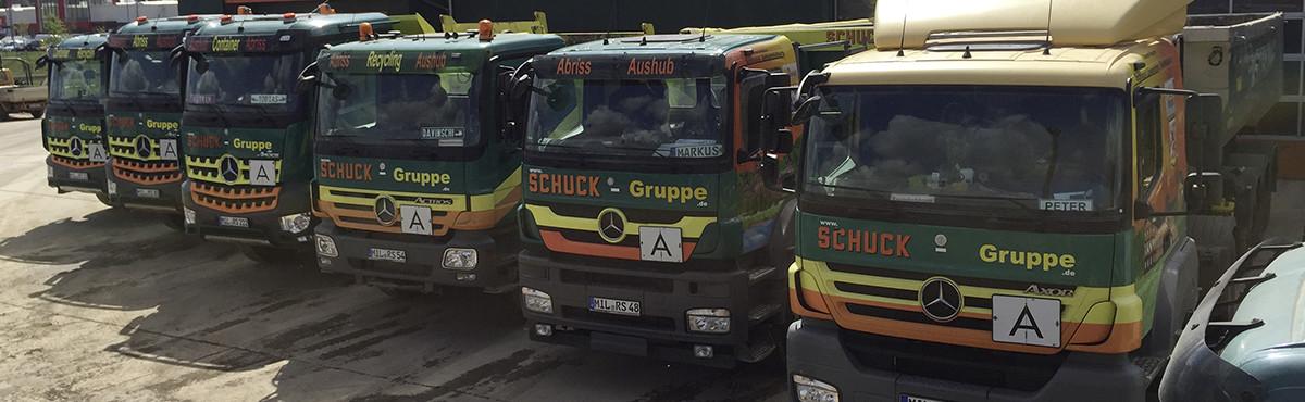 Galeriebild Lkw-Flotte von Schuck